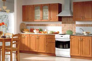 Kuchyně NIKA CLASSIC 260 classic, olše medová