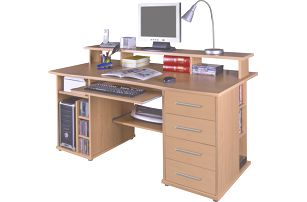 PC stůl FRANZ, buk