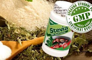 Stevia prášek 20g - zdravé sladidlo