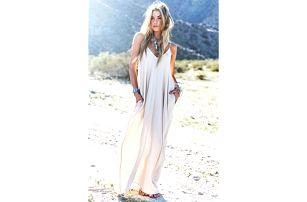 Dlouhé dámské šaty Hippie!