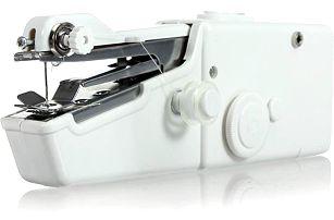 Ruční šicí stroj - bílá barva