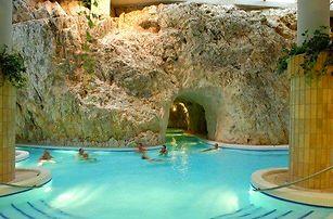 Miškovec s polopenzí+jeskynní lázně