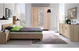 Ložnice STRAKOŠ C-S 01, postel 160 cm