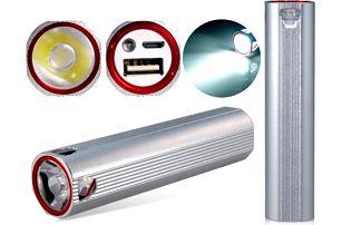 5000mAh power banka s LED světlem - poštovné zdarma