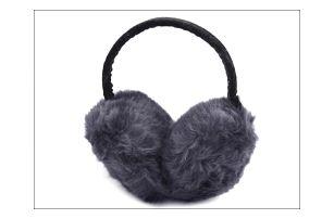 Buďte elegantní a místo čepice nasaďte šedé skládací klapky na uši!