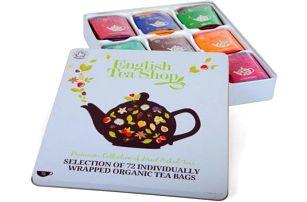Dárková kazeta čajů 72 sáčků!