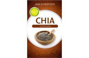 Chia semínka AWA superfoods 1000 g!