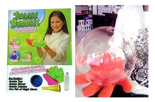 Juggle bubbles - Kouzelné bubliny!
