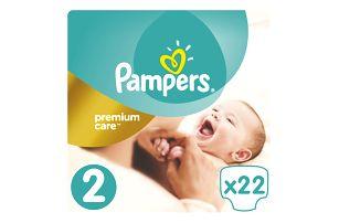 PAMPERS Premium Care 2 MINI 22ks (3-6kg)