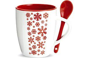 Vánoční hrnek se lžičkou Snowflake!