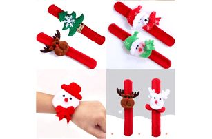 Vánoční plyšový náramek!