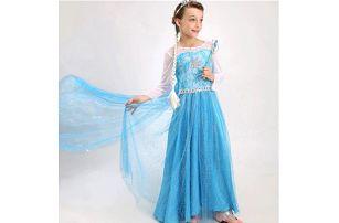 Dětský kostým šaty Královna