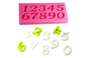 Silikonová formička s čísly