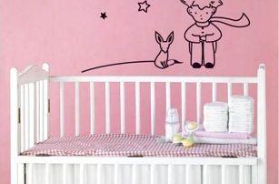 Malý princ - samolepka na zeď!