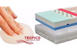 Komfortní matrace Tropico Geltech®