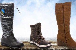 Dámské boty do zimních plískanic