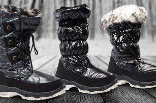 Dámské sněhule na zimní procházky