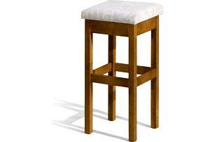 Dřevěná barová židle do kuchyně Ester