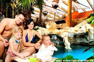 Pobyt na Liptově v hotelu*** s polopenzí a wellness během celého roku. Slevy 50% do Aquaparků