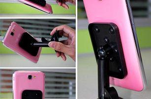 Stojánek na mobil s přísavkou - 5 barev
