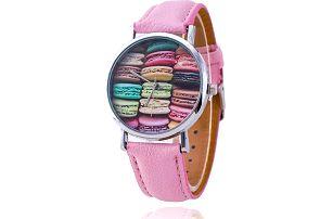 Dámské hodinky s makrónkami