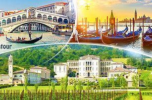 Itálie, Benátky s návštěvou vinařství - 3denní poznávací zájezd pro 1 osobu včetně dopravy z Prahy a průvodce!