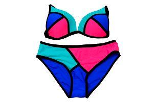 Dámské plavky dvoudílné Summer Lux de Modera trojúhelníčkové košíčky