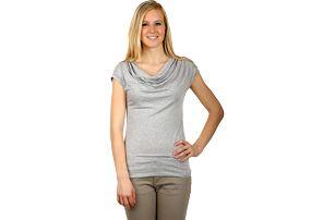 Krásné elegantní tričko šedá
