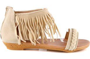 Sandálky s třásněmi C05BE