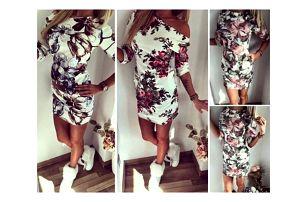 Dámské šaty s potiskem květin Callie