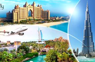 Luxusní DUBAJ letecky na 7 dní pro 1 osobu s 4* ubytováním + snídaně, výlety a koupání