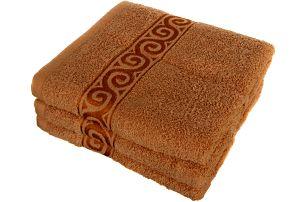 Froté ručník se vzorem Celtic světle zelená