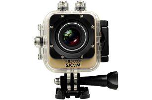 SJCAM M10 CUBE sportovní kamera - zlatá