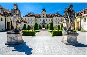 Zámecký hotel Hubertus *** s polopenzí a degustací vín