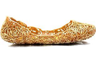 Zlaté gumové baleríny