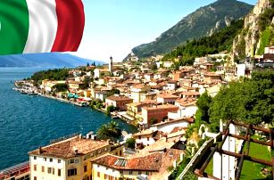 4denní zájezd do italského tria pro jednoho, Benátky, Verona a jezero Lago di Garda.