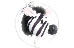 BEBE-JOU Dinkey Zebra, kousátko s plyšovou zebrou