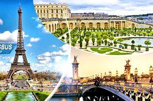 Francie: Paříž a Versailes 17-20/11, zájezd pro 1 osobu na 4 dny/1 noc + snídaně a průvodce