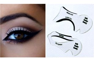 Šablony na malování očních linek 2 ks