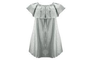 Dámské šaty s volánky mořský motiv