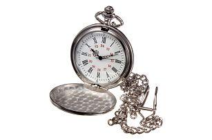 Stylové kapesní hodinky na řetízku - skladovka - poštovné zdarma