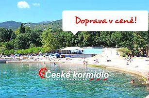 10denní Chorvatsko (Kvarner)   Akce: Ubytování + doprava v ceně!   Apartmány Novi Vinodolski***