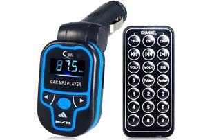 Barevný MP3 FM Transmitter