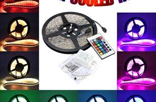 LED RGB pásek s dálkovým ovládáním - 5 m
