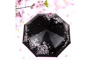 Deštník s třešňovými kvítky - dodání do 2 dnů