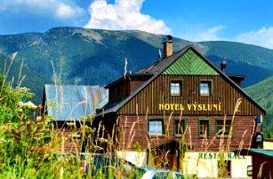 3 až 5denní pobyt pro dva s polopenzí a wellness v hotelu Výsluní*** ve Špindlu