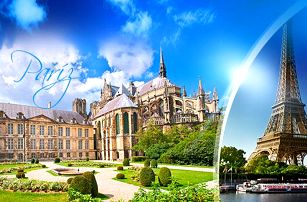 Paříž, Versailles a Remeš: 5denní zájezd pro 1 osobu s dopravou a 2x ubytováním se snídaní