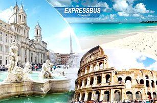 Itálie - Řím, Florencie a Pisa 16-20/11/2016 pro 1 osobu včetně dopravy a 2 nocí se snídaní