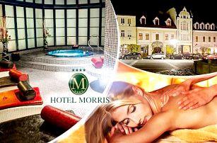 Pětidenní pobyt pro 2 osoby v Hotelu Morris Česká Lípa s polopenzí, procedurami a wellness