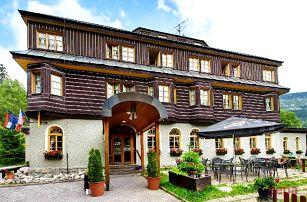 5denní wellness pobyt pro 2 s polopenzí v Alpském hotelu ve Špindlerově Mlýně